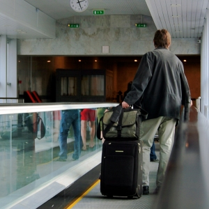Traveler with Bags