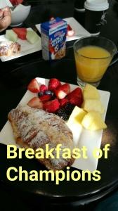 Continental breakfast at Hotel Sorella