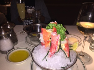 Cracked jumbo king crab legs