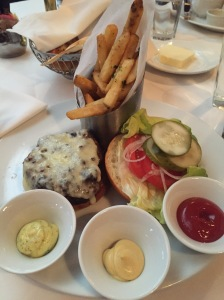 The Grille's Signature Cheeseburger