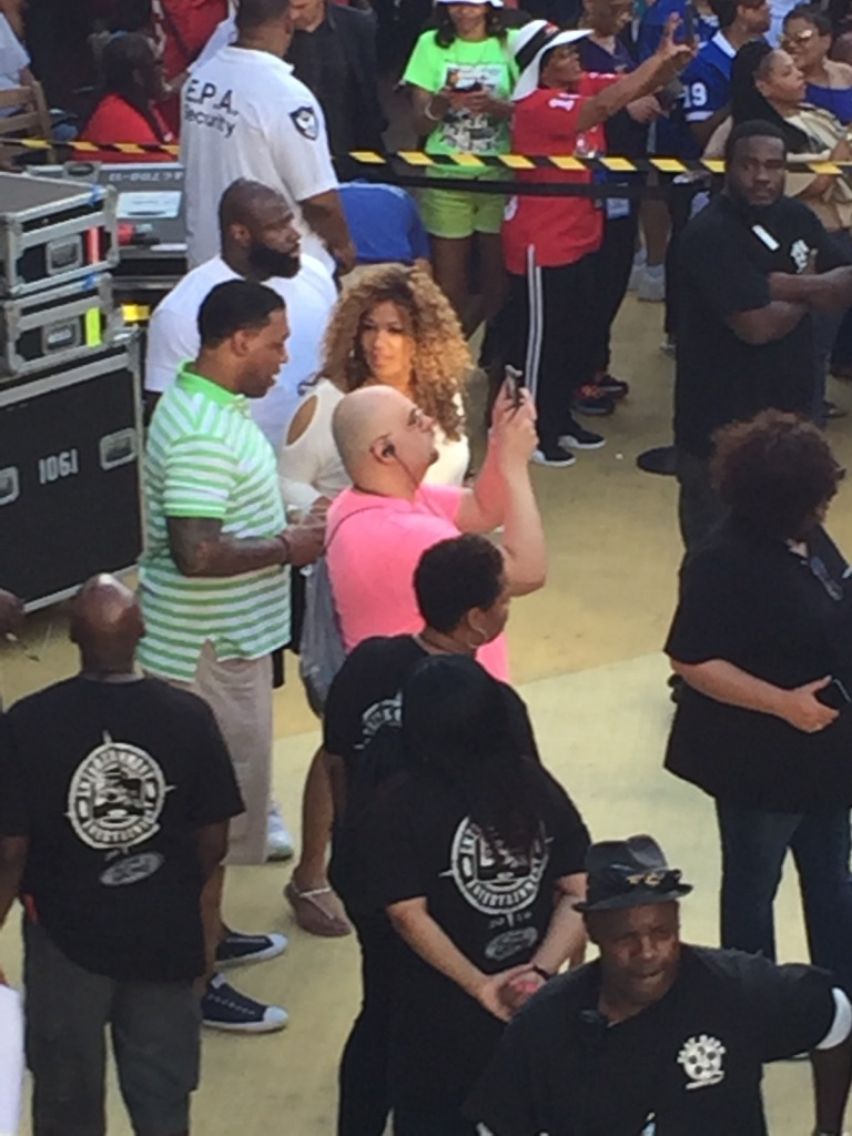SPOTTED: Kym Whitley