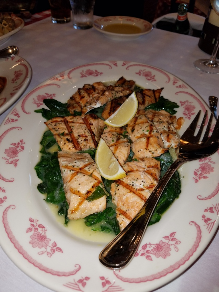 Grilled salmon lemon and herb - this tasted superb!!