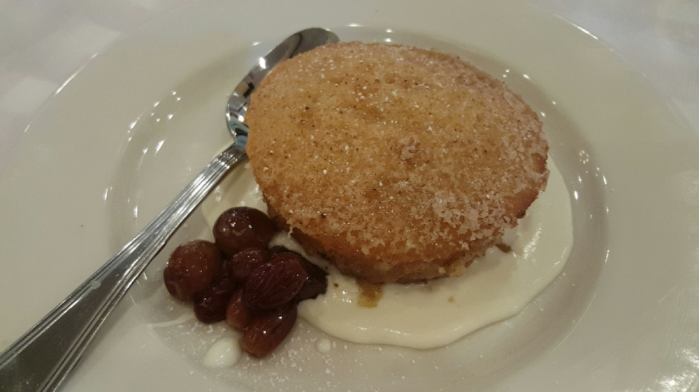 Gigi's butter cake - oh my, this tasted like a little bit of heaven!