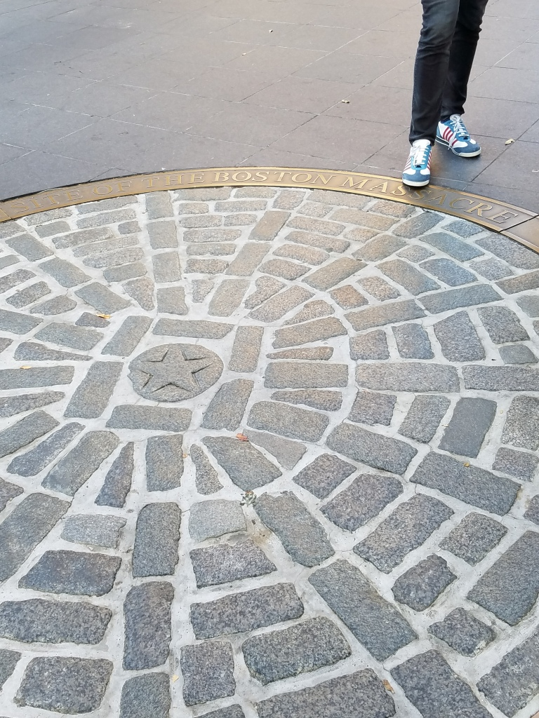 Site of the Boston Massacre