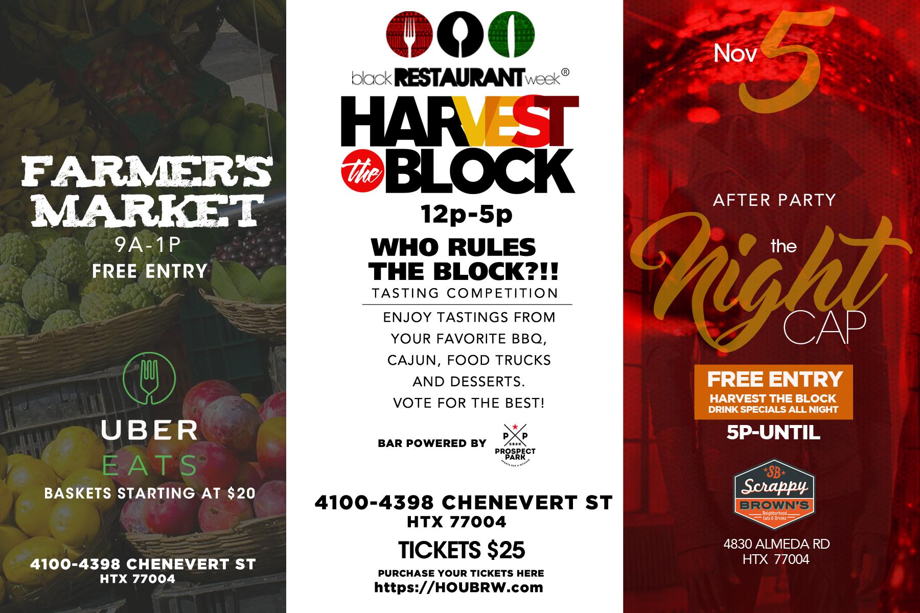 Coming Soon: Houston Black Restaurant Week\'s Harvest the Block ...