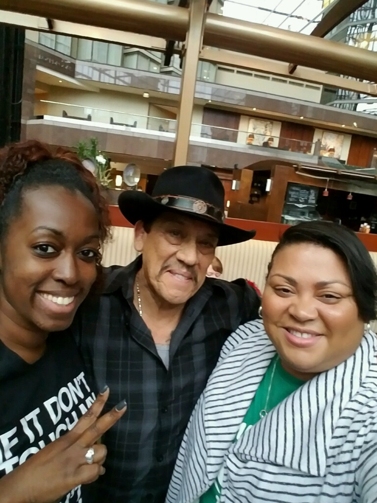 Yup, we ran into Danny Trejo while getting dinner at the hotel! Of course we had to get a selfie. Can't wait to visit his food truck and restaurant in Los Angeles to get some bad ass tacos!