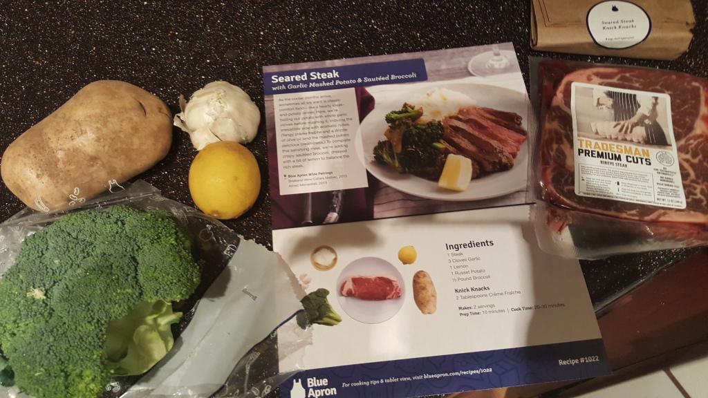 Meal 1 Ingredients