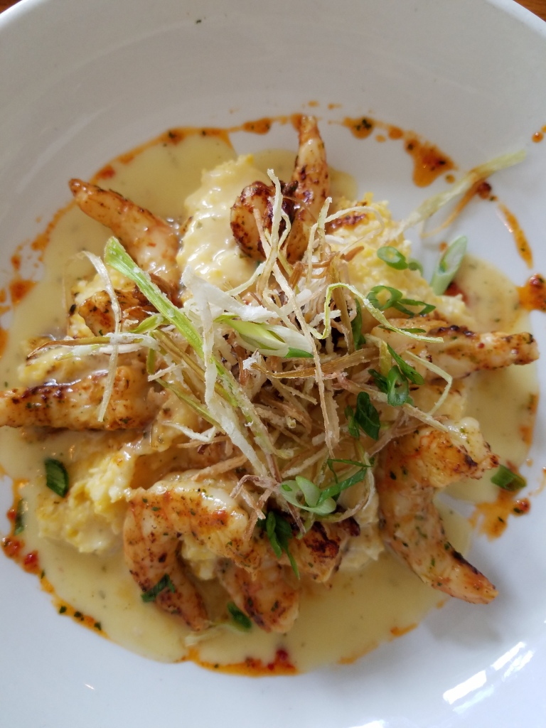 Backstreet Cafe's Shrimp and Grits