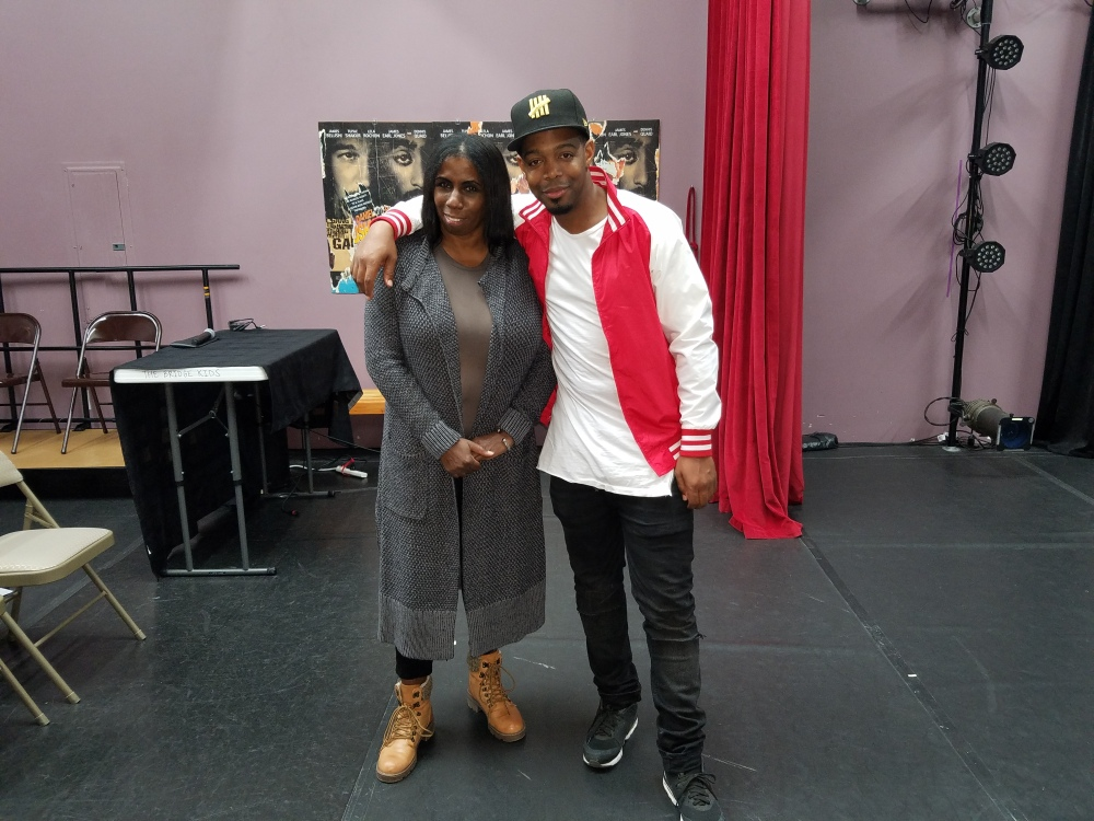 Sherese Campbell, Artistic Director City Dance Studio and Chris Thomas, SonKiss'd Dance Theater