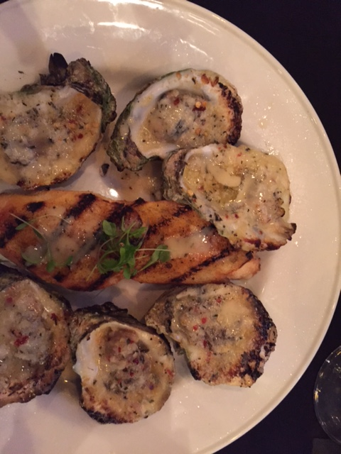 Holley's Chargrilled Oysters