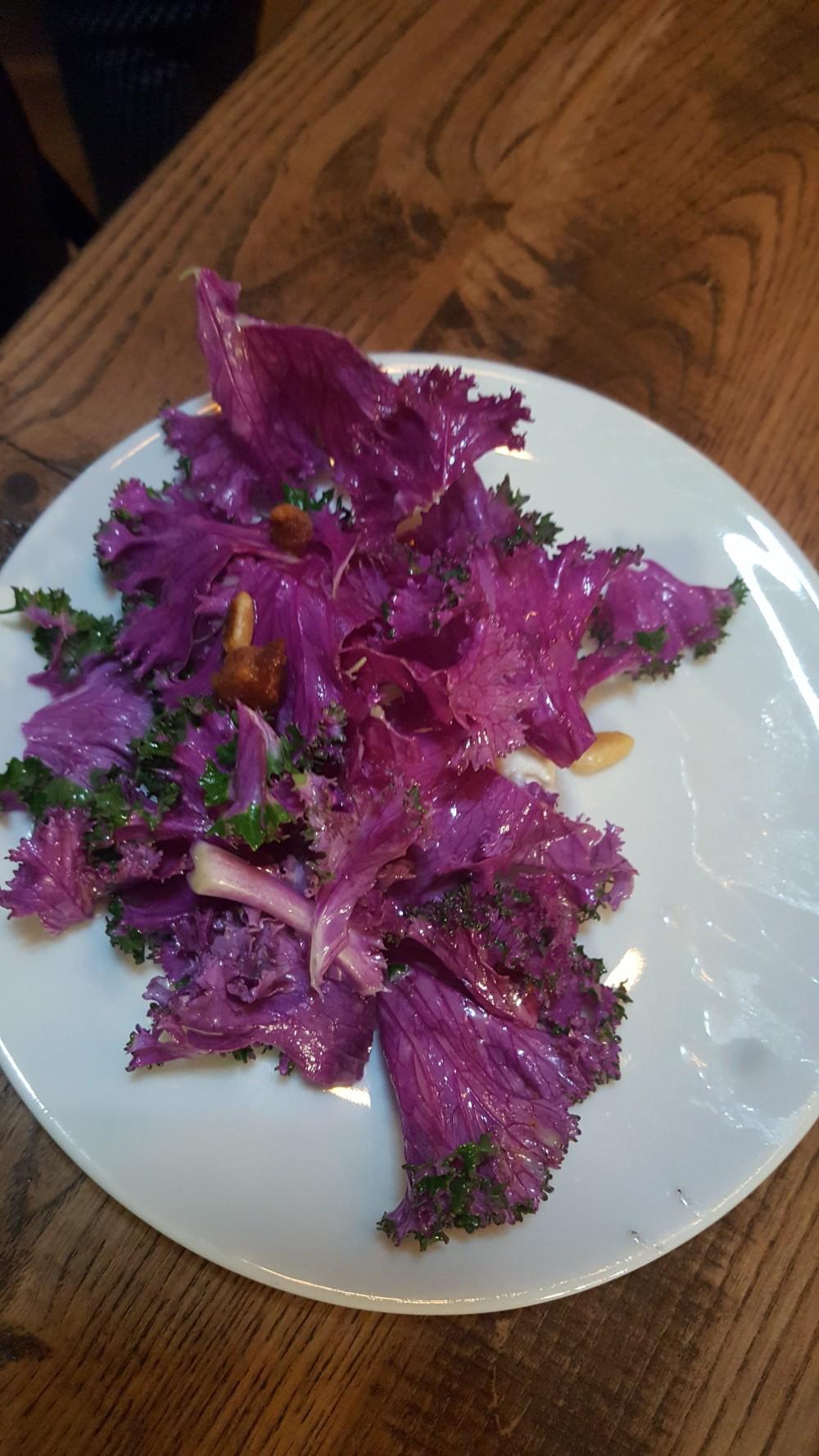 Purple kale, anyone?