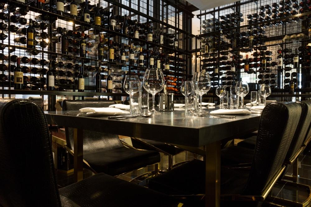 Potente wine room - courtesy photo