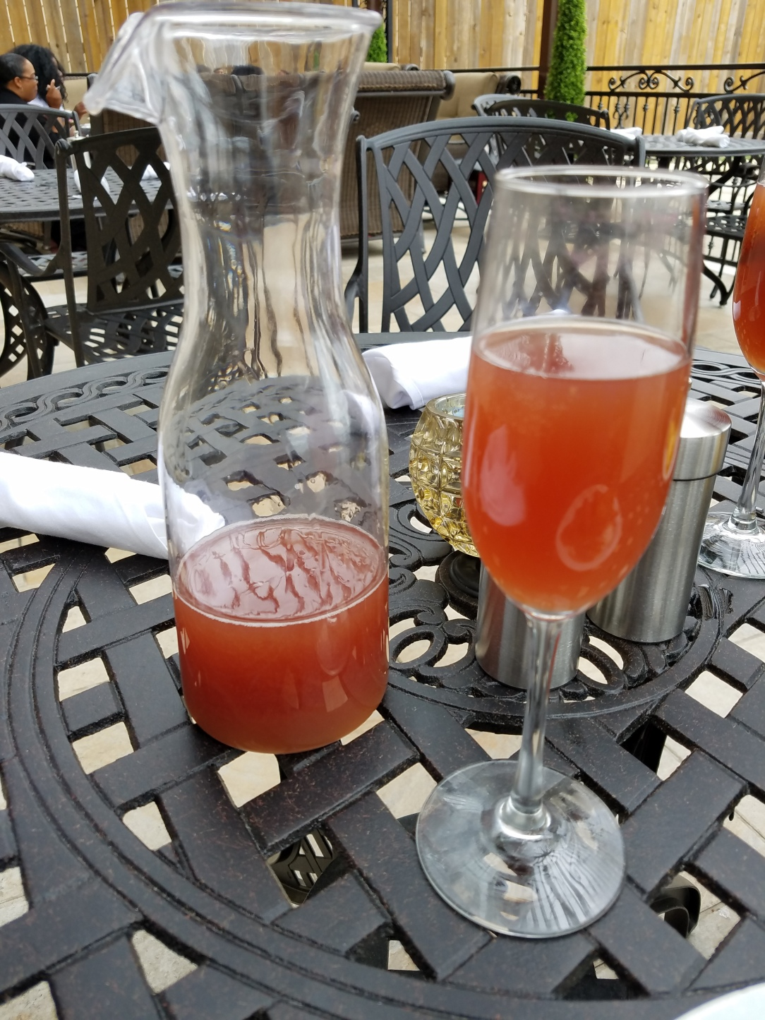 Bottomless Mimosas - Pomegranate (pictured), Raspberry and Orange