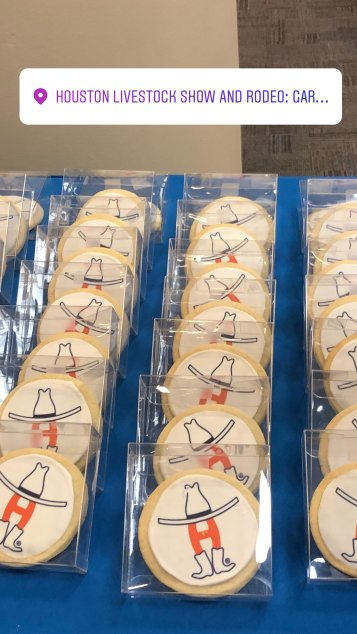 Rodeo cookies - Yum!